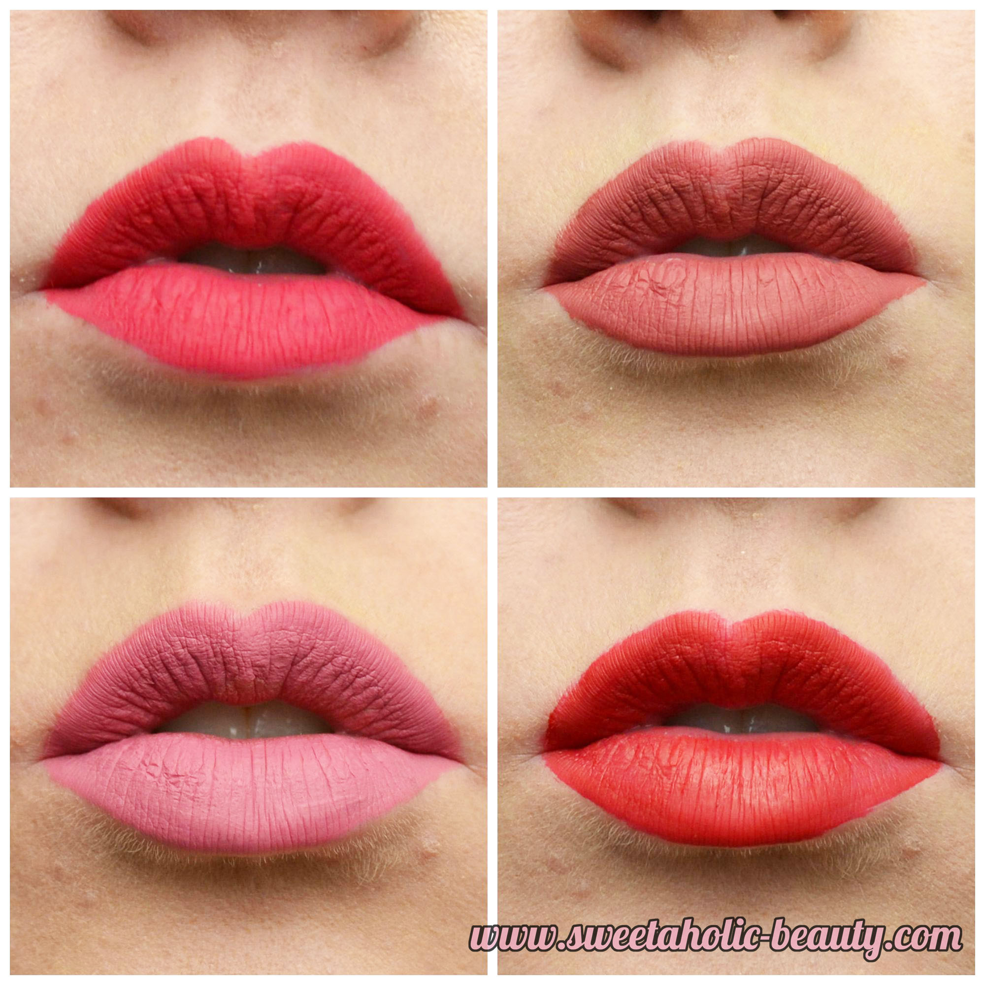 Klara Cosmetics Kiss Proof Lips Collection Review & Swatches - Sweetaholic Beauty