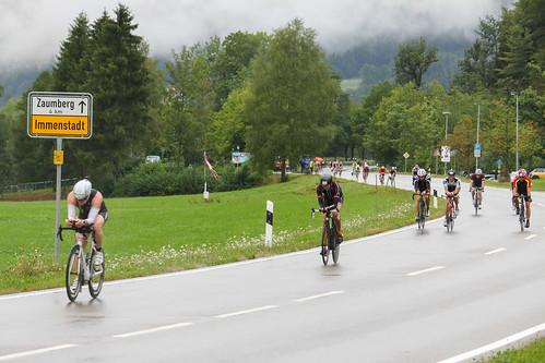Allgäu Triathlon am Alpsee in Immenstadt-Bühl 2015