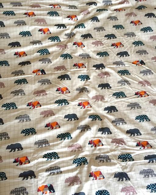 Autumn bedding - detail