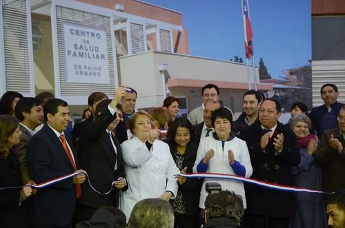 Presidenta Bachelet junto al Alcalde Vergara inauguran nuevo CESFAM Dr. Miguel Angel Solar