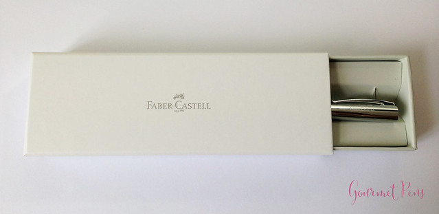 Review Faber-Castell Ambition OpArt Aqua Fountain Pen @goldspotpens @FaberCastell (3)
