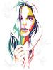 Wpap portrait #Lady B by AleksandrSereda
