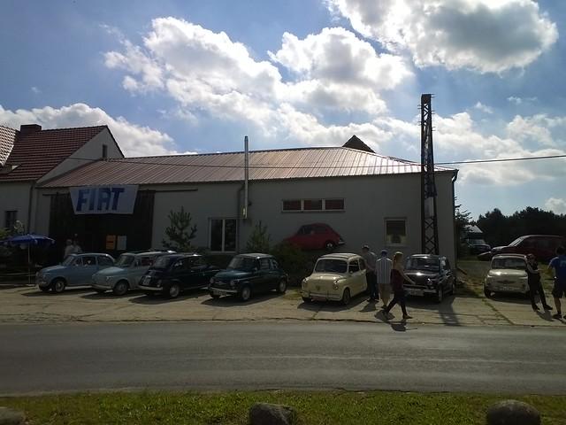Fiat 500 Treffen Klein Marzehns 2015