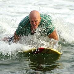 Yamba surfer