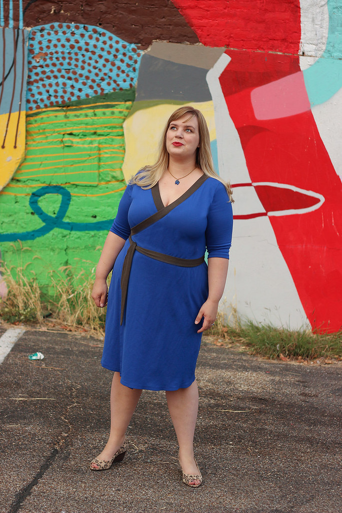 Idle Fancy - Appleton Dress - Cashmerette Patterns - Blue Jersey-0464