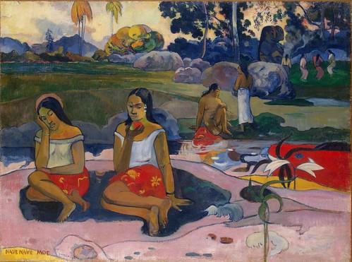 Paul Gauguin, Sacred Spring Sweet Dreams (Nave nave moe), 1894