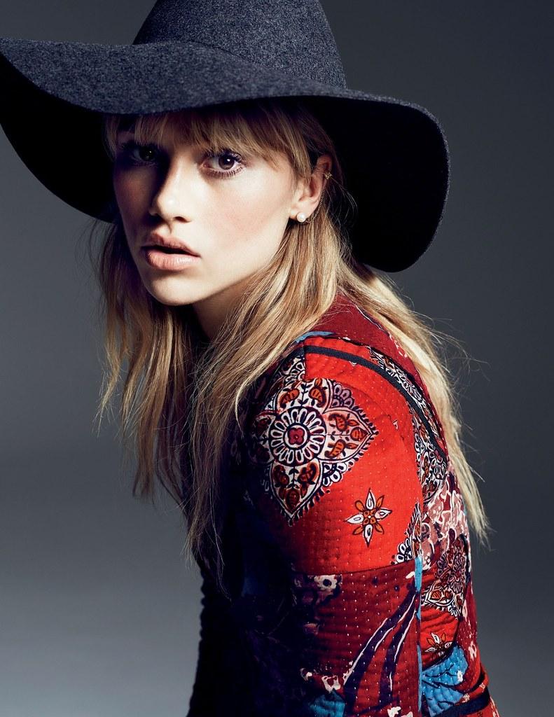 Сьюки Уотерхаус — Фотосессия для «Vogue» TH 2015 – 4
