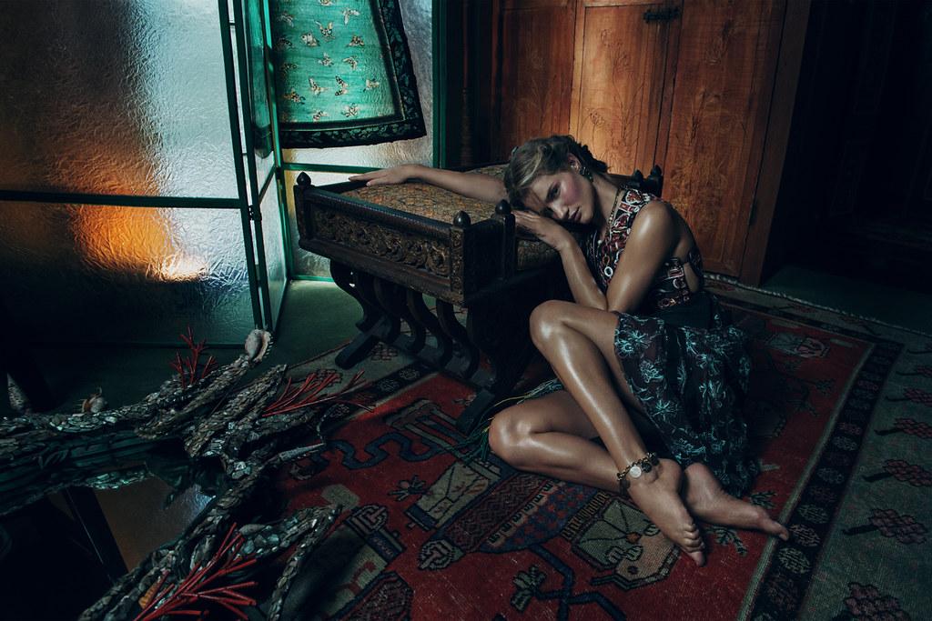 Роузи Хантингтон-Уайтли — Фотосессия для «Vogue» KR 2015 – 2