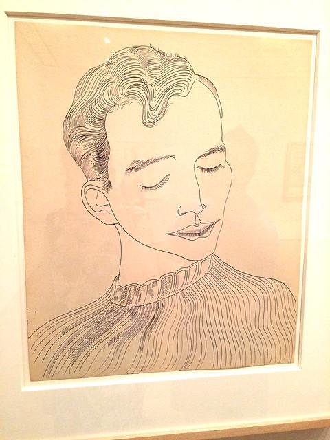 Warhol drawing