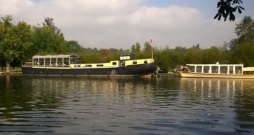 Regal looking barge