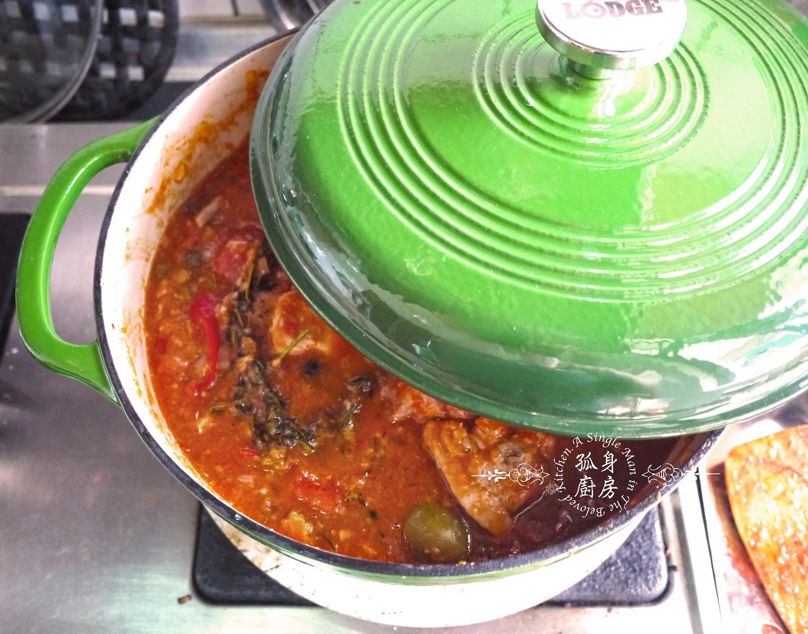 孤身廚房-蕃茄橄欖燴雞肉佐番紅花香米23