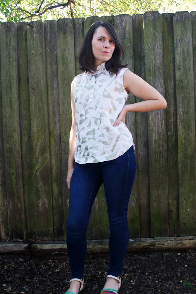 Sleeveless Grainline Archer