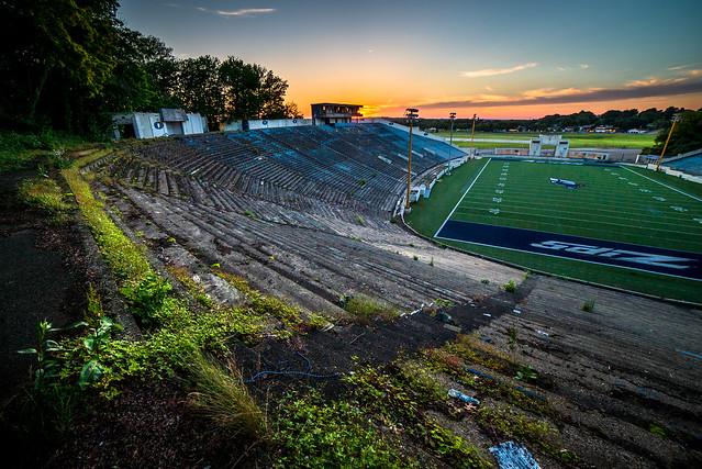 The Akron Rubberbowl Stadium