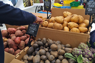 Mission Farmer's Market - Potatoes