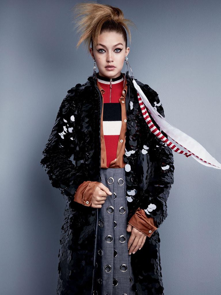 Джиджи Хадид — Фотосессия для «Vogue» 2015 – 6