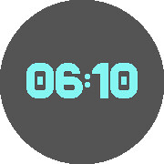 BEAVER Watchface for Pebble Time Round