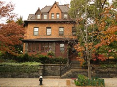 Benziger House in autumn