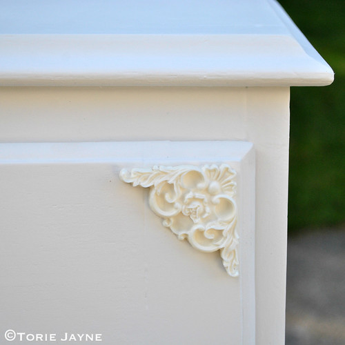 Apply decorative mouldings