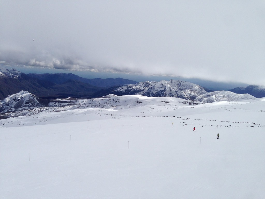 Snowpark area near Mirador
