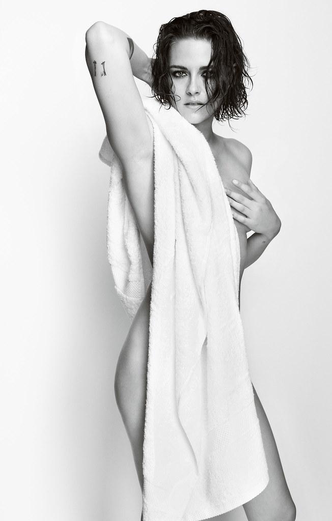 Кристен Стюарт — Фотосессия для «Towel Series» 2015 – 1