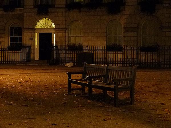 banc sur Fitzroy square