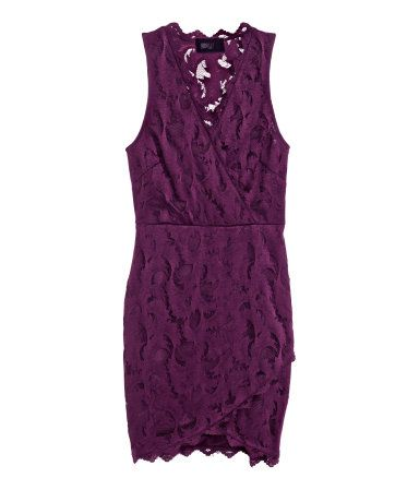 daytime summer glamour H&M lace dress $49.95