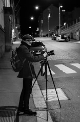 Waiting the decisive moment