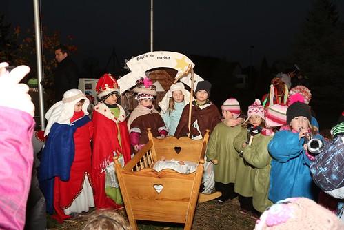 2014 - Mikulášská a rozsvícení vánočního stromku