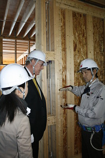 Forestry trade mission delegates got a close-up look at how British Columbia's wood product technology and building expertise is being used in a new elderly care facility in Tokyo, Japan.