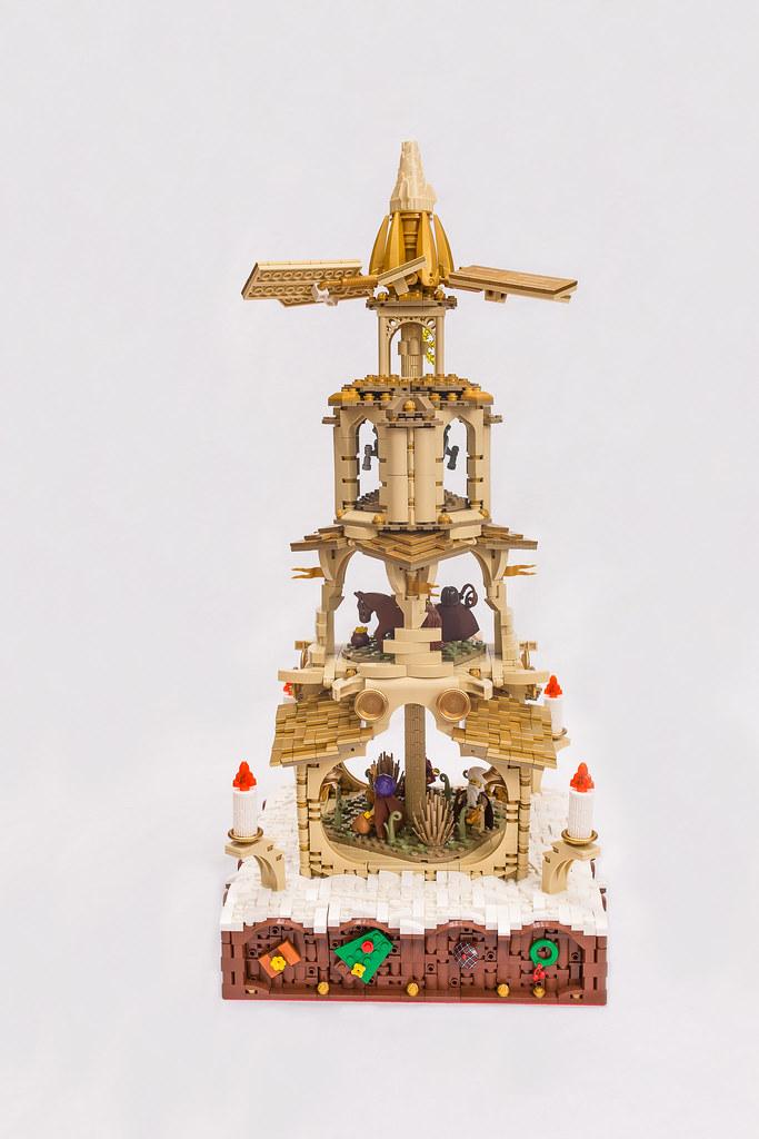 [BuildtheBrick #2]: Weihnachtspyramide 23848733276_7a4818ef07_b