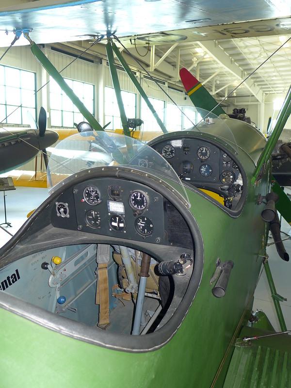 Flight instruments: Polikarpov Po-2 Mule
