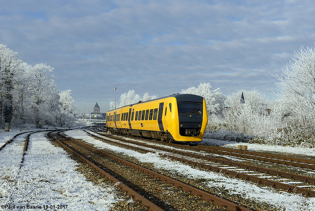 NS - DM'90 3429 : winters Kampen, 19-01-2017