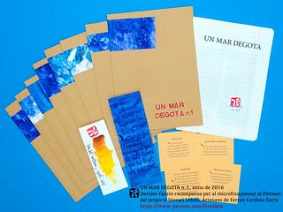 Un mar degota n.1, revista d'autor de Ferran Cerdans Serra