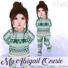 {fawn} My Abigail Onesie