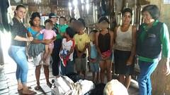 Secretaría de protección con ayuda ante emergencia en comunidad La Barranca