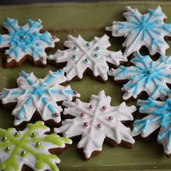 snowflakes square