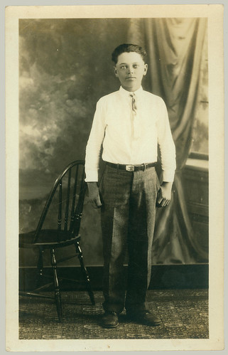 RPPC of young man