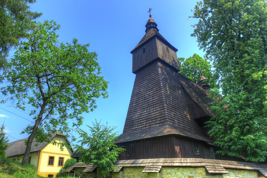 wooden church in hervartov unesco slovakia, unesco sights in slovakia, how to get to hervartov, bardejov what to do
