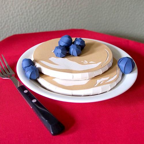 Papercut Pancakes by Hannah Miles