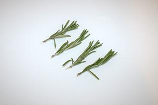 10 - Zutat Rosmarin / Ingredient rosemary