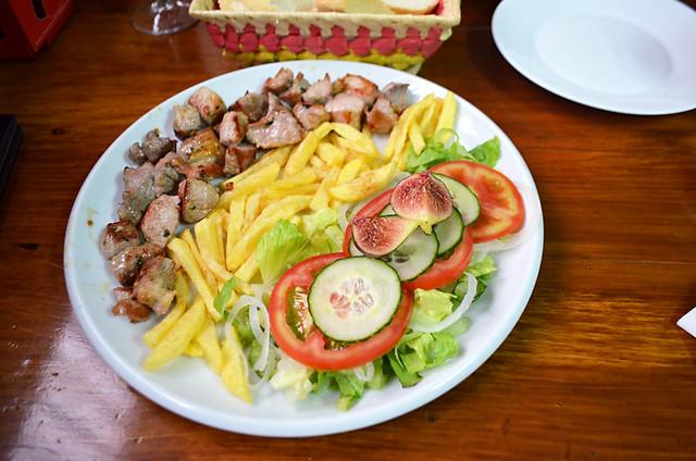 Fried pork, Tasca Mencey Amanay, Pajara, Fuerteventura