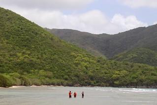 Image de Reef Bay Beach près de Cruz Bay. ocean beach sand snorkel nps marlena usvi deaftalent deafoutsidetalent deafoutdoortalent