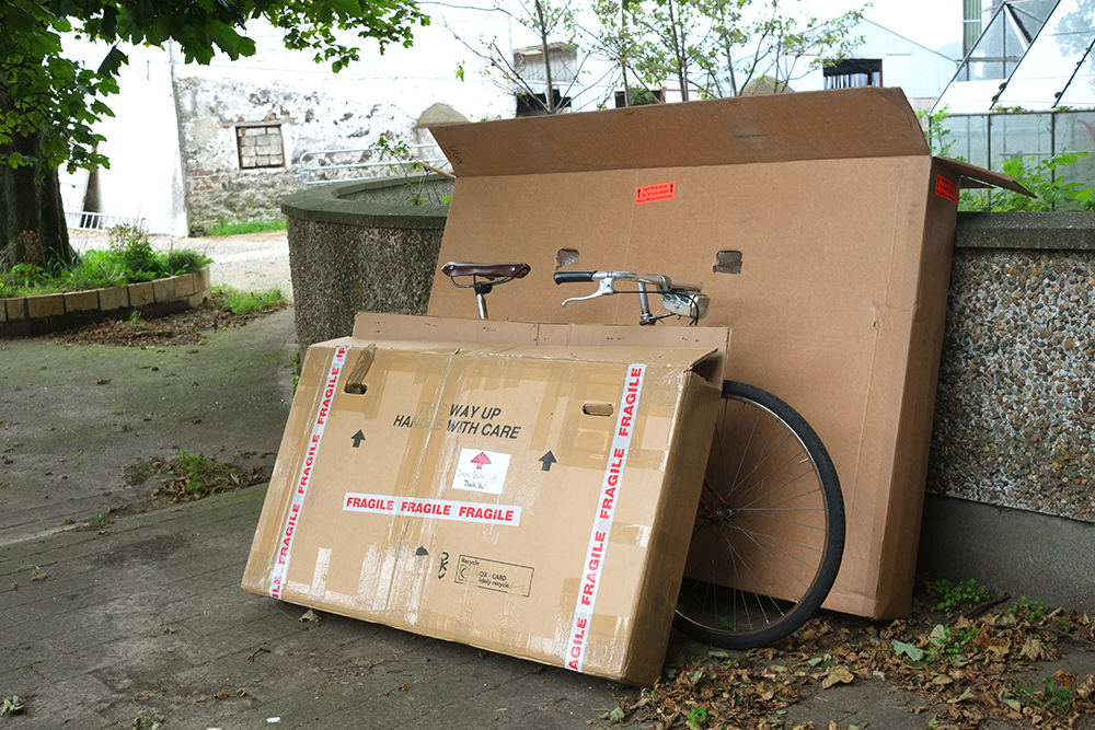 Full Sized vs Frame-Sized Bicycle Box