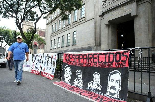 Hay 25 mil desaparecidos, dice Gobernación
