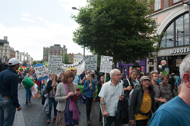 Right2Water Protest