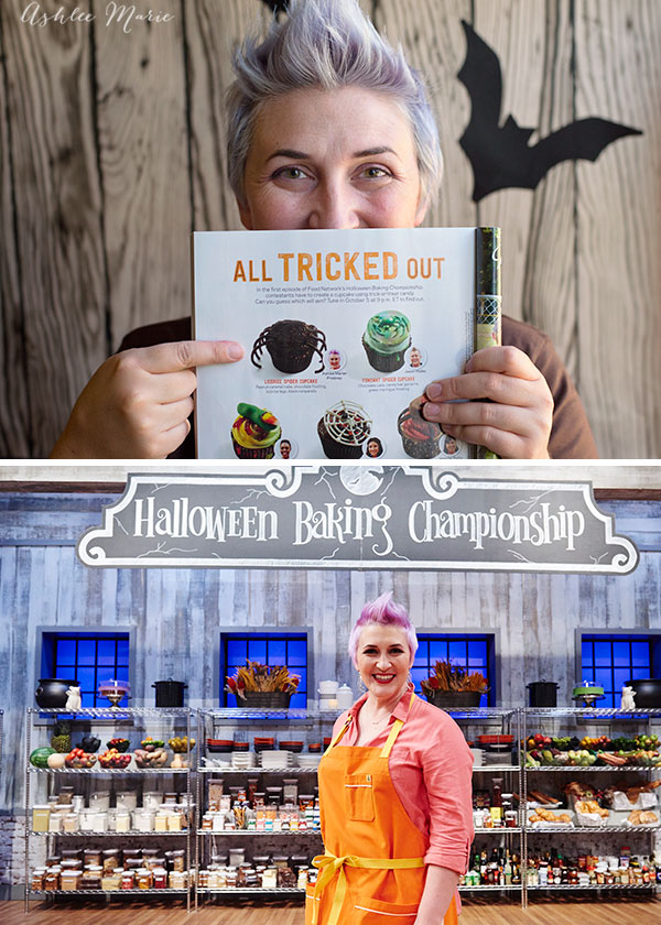 Food Network Halloween Baking Championship contestant Ashlee Marie Prisbrey