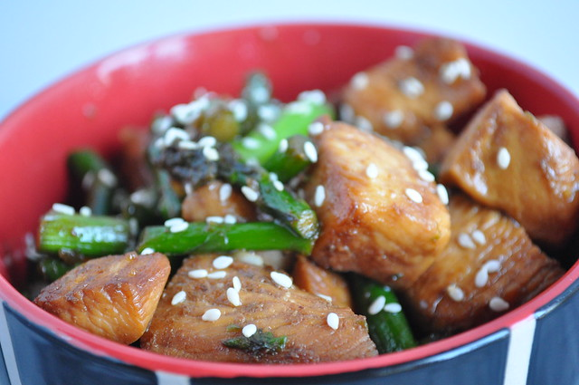 Chicken and Asparagus Stir Fry