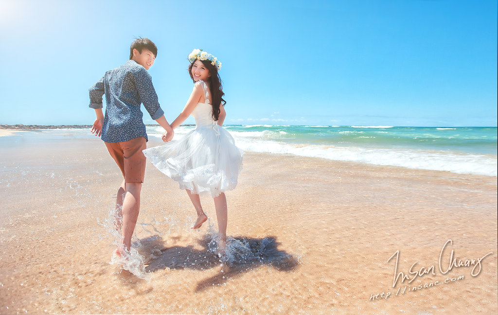 [海外婚紗] 澳洲 {布里斯班,黃金海岸} ~ 搶先版 海灘奔跑
