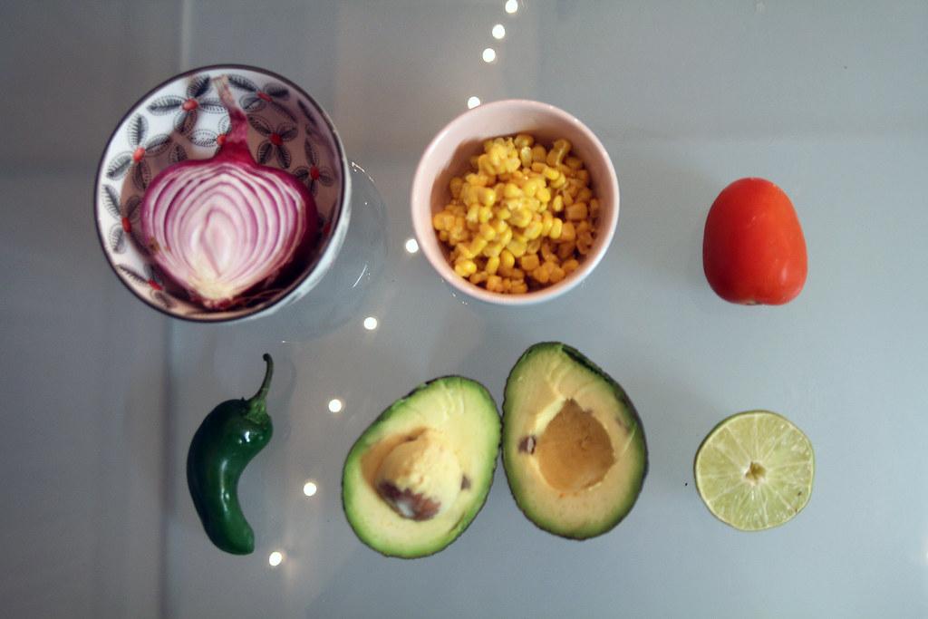 Homemade guacamole, nacho cheese, Netflix and Chill