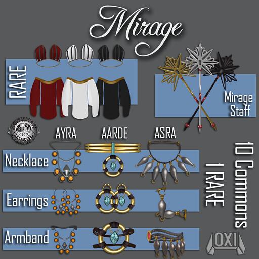 Mirage Gacha Set - Key